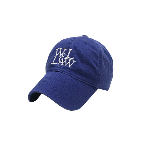 W&L Law Logo Hat, Royal