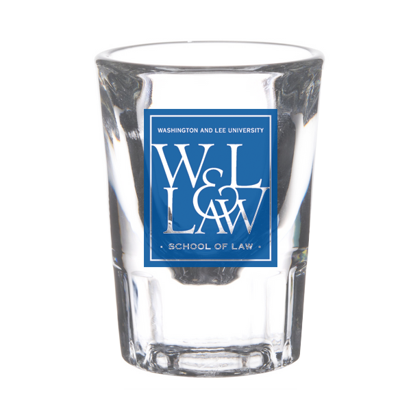 W&L Law Shot Glass