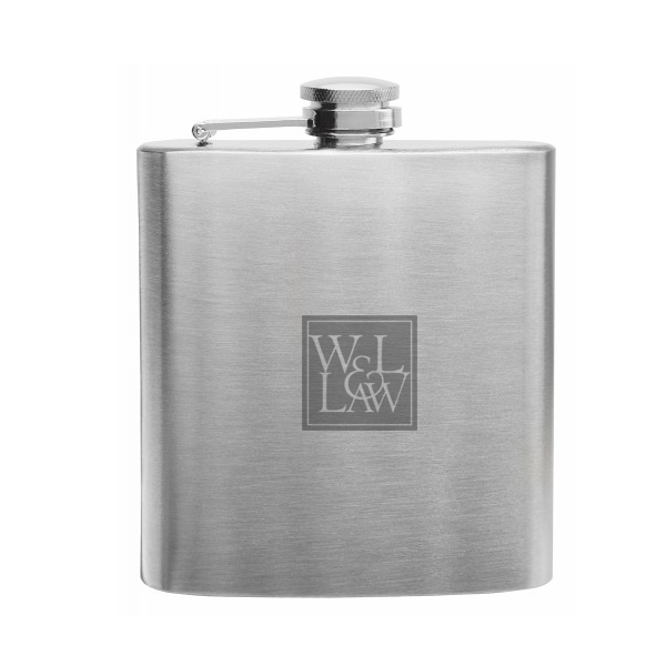 Law Flask 8 oz