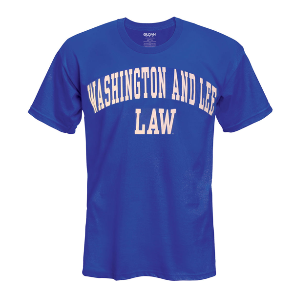Law Basic Arch Tee, Royal