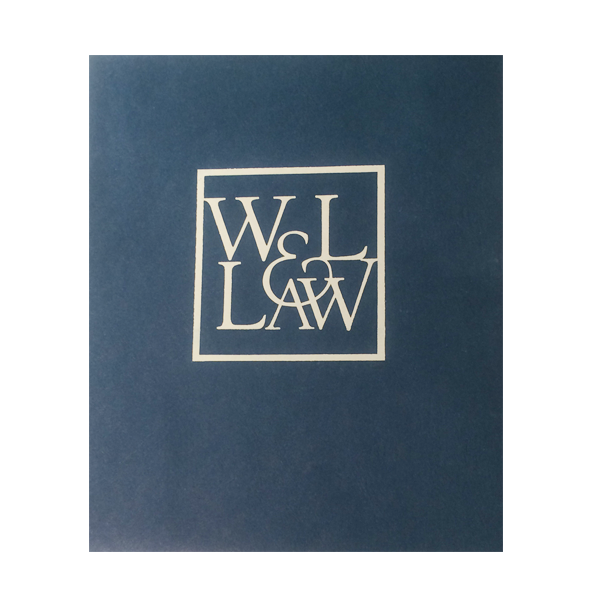 Law Pocket Folder