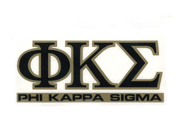 Phi Kappa Sigma Decal