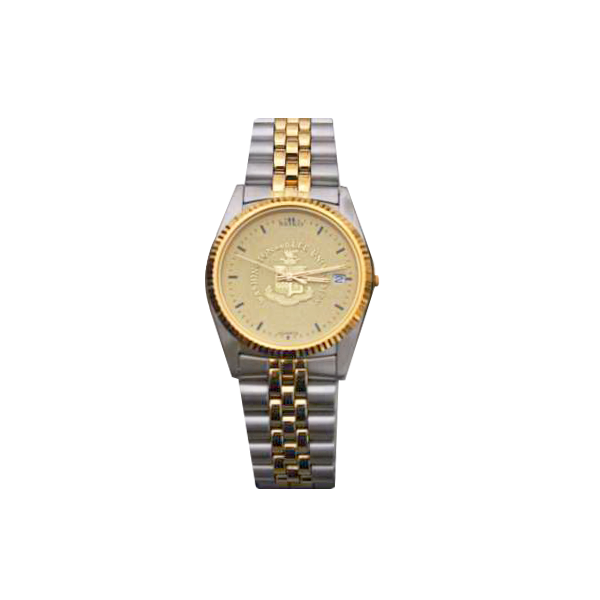 Men's Two-Tone Seiko Watch with Metal Band