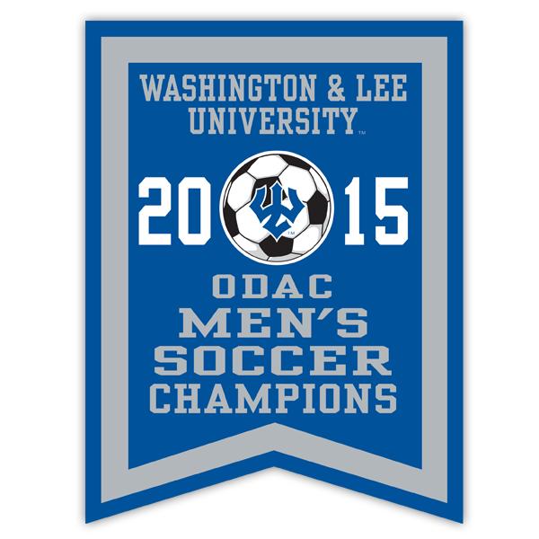 2015 ODAC Men's Soccer Banner