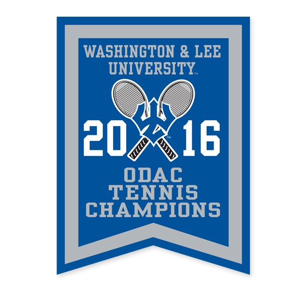 2016 ODAC Tennis Banner