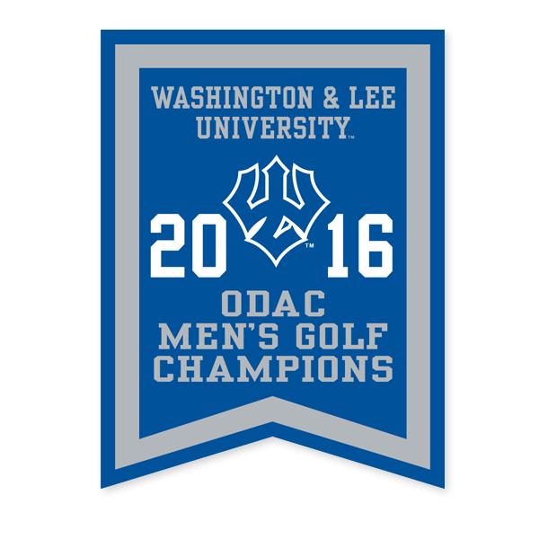 2016 ODAC Golf Banner