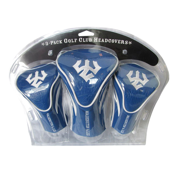 3-Pack Golf Club Headcovers, Royal