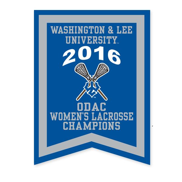 2016 ODAC Women's Lacrosse Banner