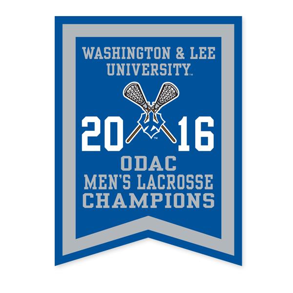 2016 ODAC Men's Lacrosse Banner