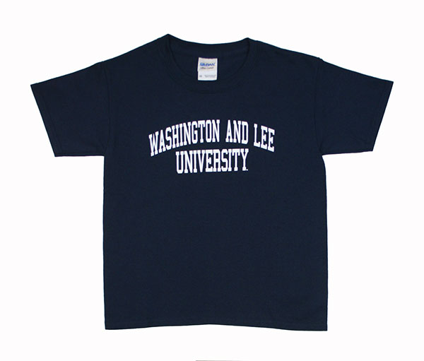 Short Sleeve Youth Basic Arch Tee, Navy