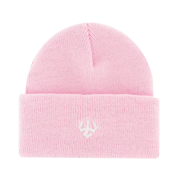 Youth Acrylic Cuff Beanie with Trident