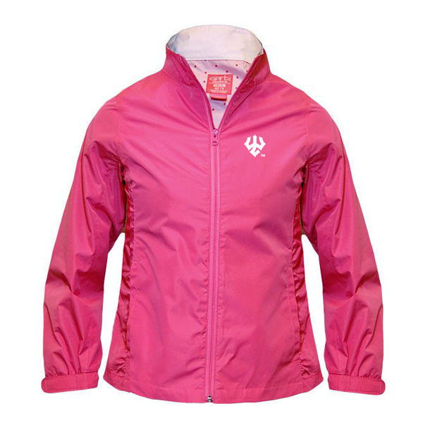 Berlyn Full Zip Jacket with Trident, Hot Pink