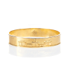The Colonnade Bangle by Kyle Cavan, Gold (Small) thumbnail
