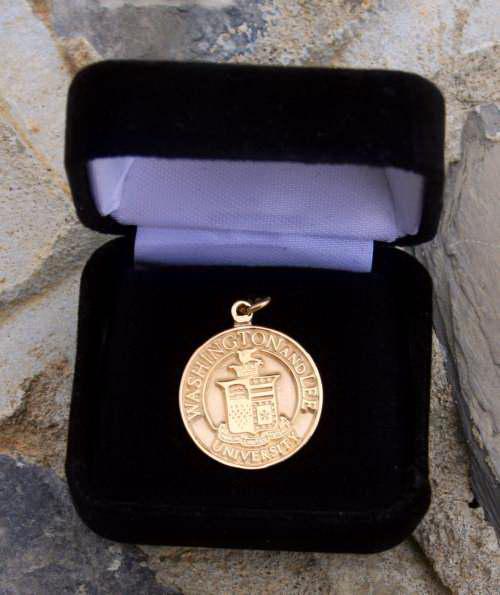 Crest Charm, 10K Gold