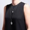 Kyle Cavan Silver Shield Pendant Necklace thumbnail