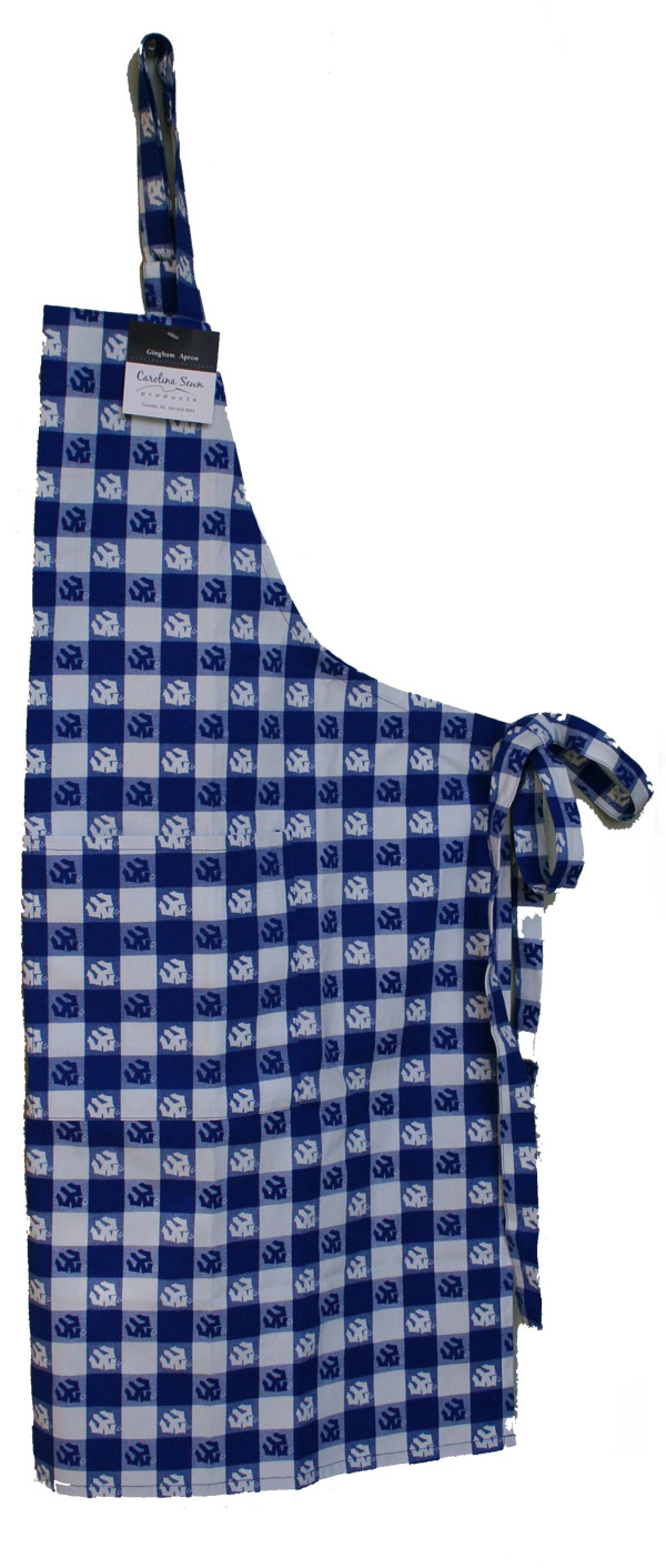 Gingham Apron with Tridents