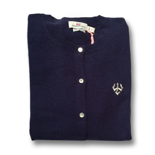 Vineyard Vines Cashmere Cardigan, Navy