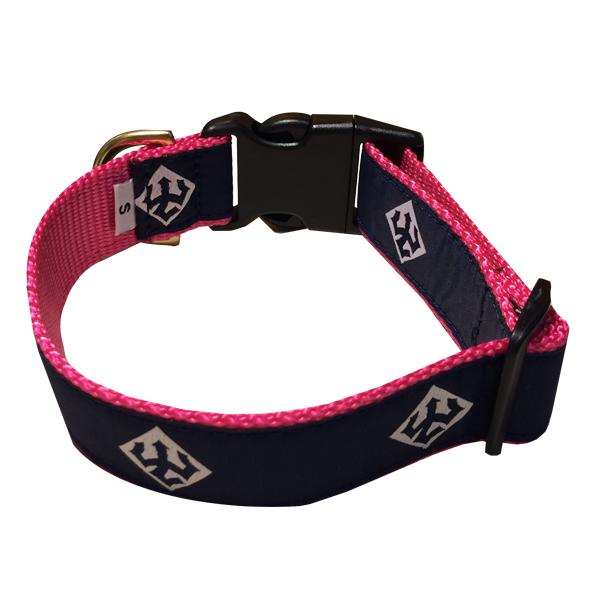 Trident Dog Collar, Pink