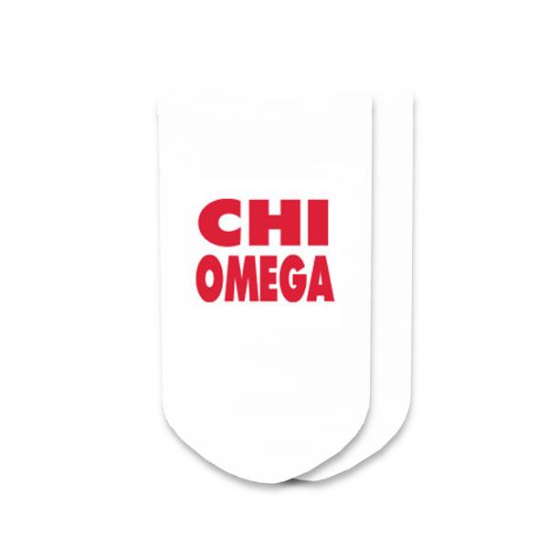 Chi Omega Socks