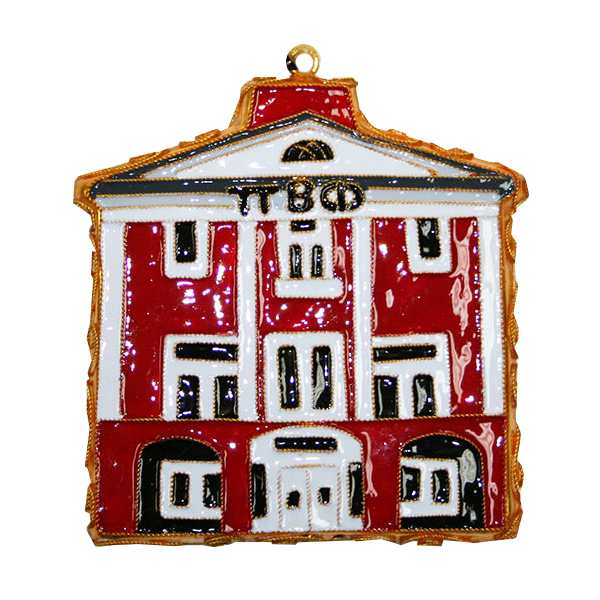 Kitty Keller Pi Beta Phi House Ornament