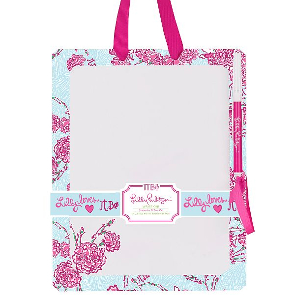 Lilly Pulitzer Pi Beta Phi Dry Erase Board