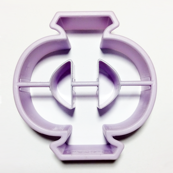 Phi Letter Cookie Cutter