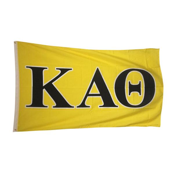 Kappa Alpha Theta Letter Flag