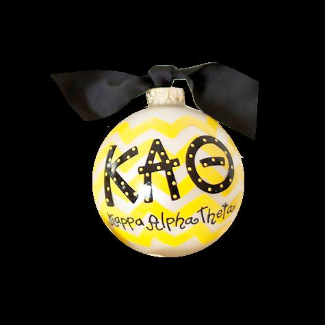 Kappa Alpha Theta Ball Ornament