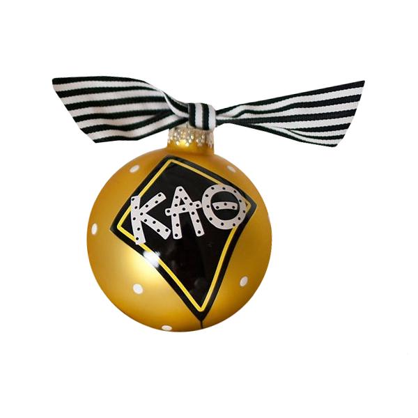 Kappa Alpha Theta Kite Ball Ornament