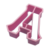 Alpha Letter Cookie Cutter thumbnail