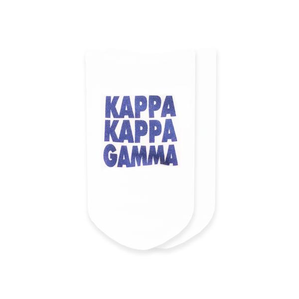 Kappa Kappa Gamma Socks