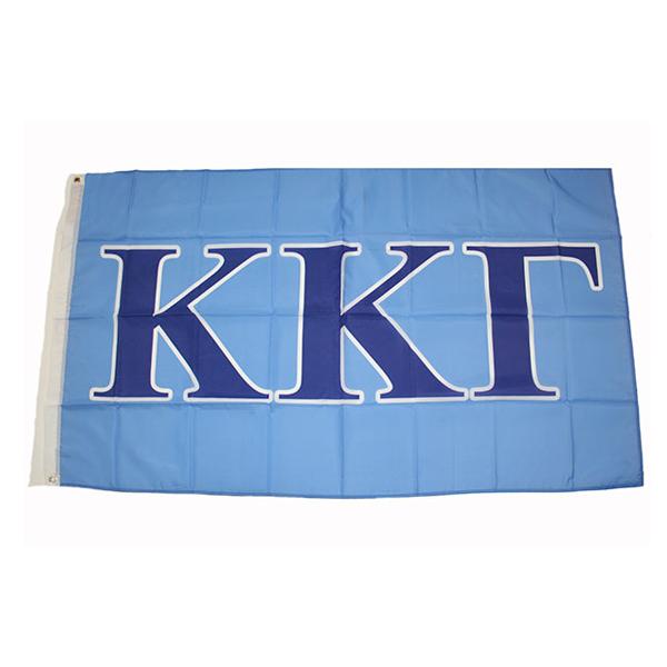 Kappa Kappa Gamma Letter Flag