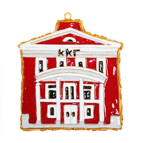 Kitty Keller Kappa Kappa Gamma House Ornament