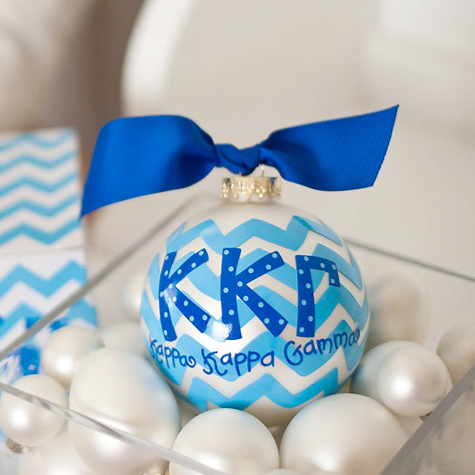 Kappa Kappa Gamma Ball Ornament
