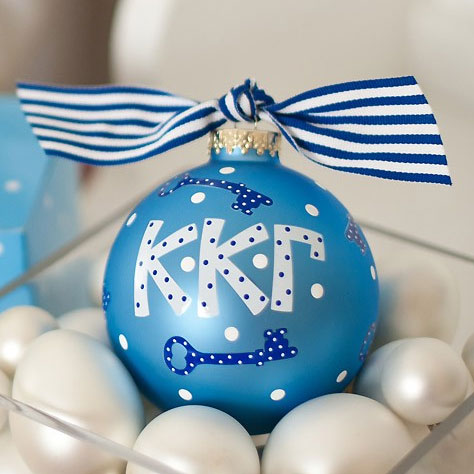 Kappa Kappa Gamma Key Ball Ornament