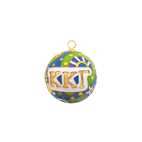 Kitty Keller Kappa Kappa Gamma Psychedelic Ornament