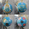 Kitty Keller Alpha Delta Pi Crest Cloisonne Ornament thumbnail