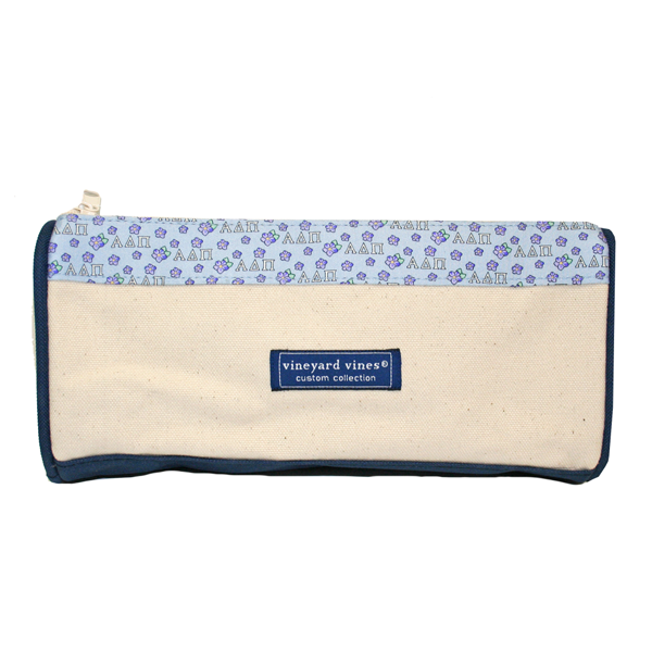 Vineyard Vines Alpha Delta Pi Makeup Bag