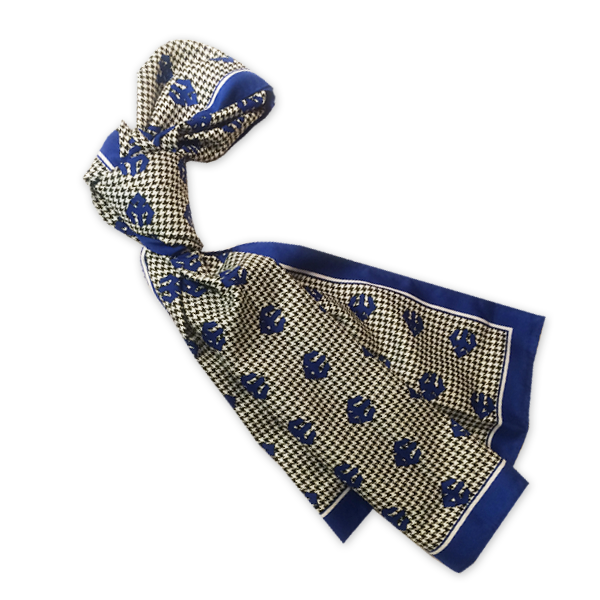 Houndstooth Trident Scarf