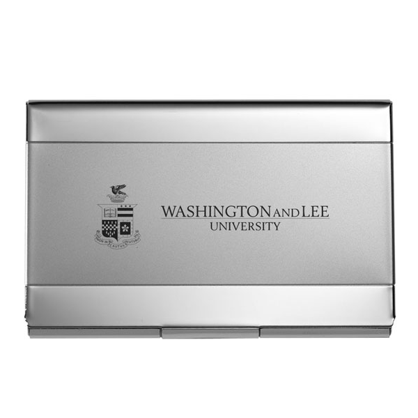 Business Card Holder with Crest and Wordmark
