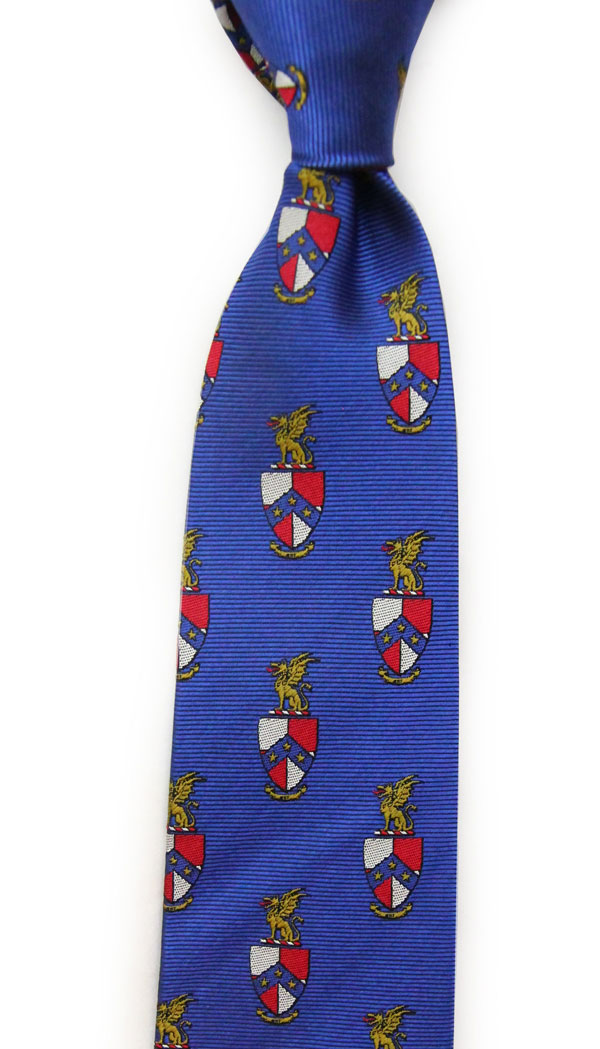 Dogwood Black Beta Theta Pi Tie