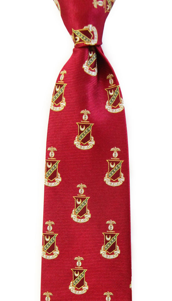 Dogwood Black Kappa Sigma Tie