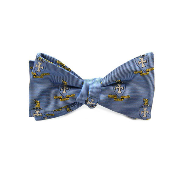 Dogwood Black Sigma Chi Bow Tie