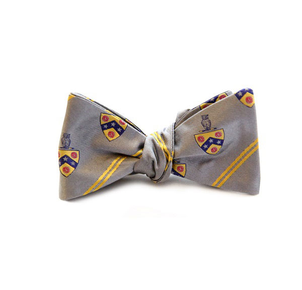 Dogwood Black Phi Gamma Delta Bow Tie