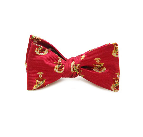Dogwood Black Kappa Sigma Bow Tie