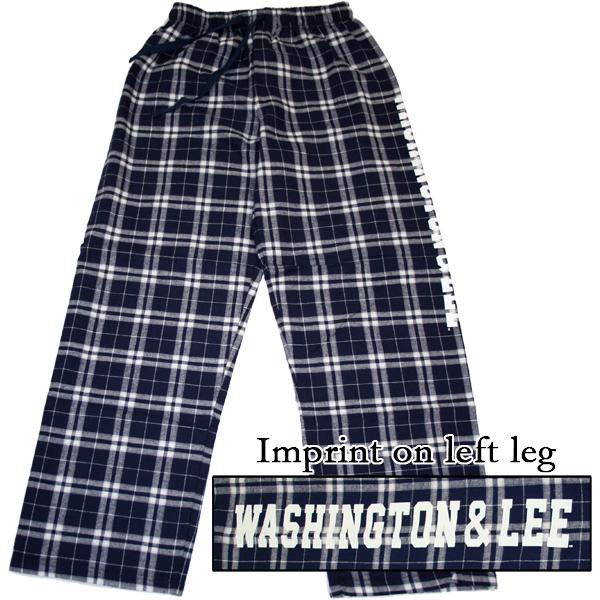 Boxercraft Plaid Lounge Pants, Navy