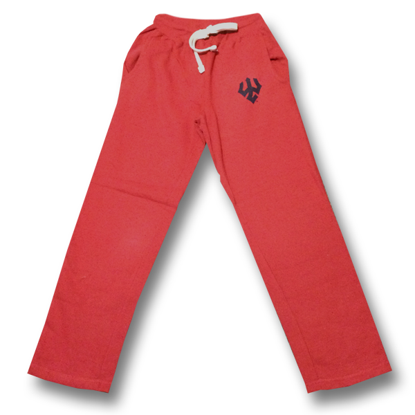 Pro-Weave Sweatpants with Trident, Vintage Red