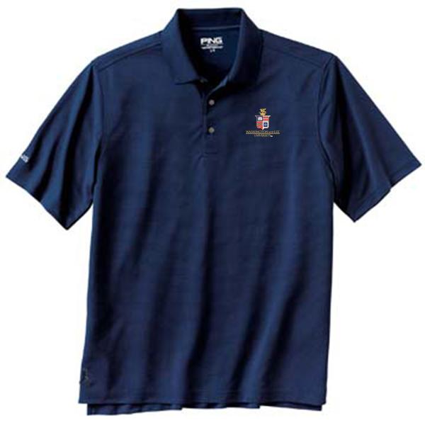 Ping Iron Crest Polo, White or Navy