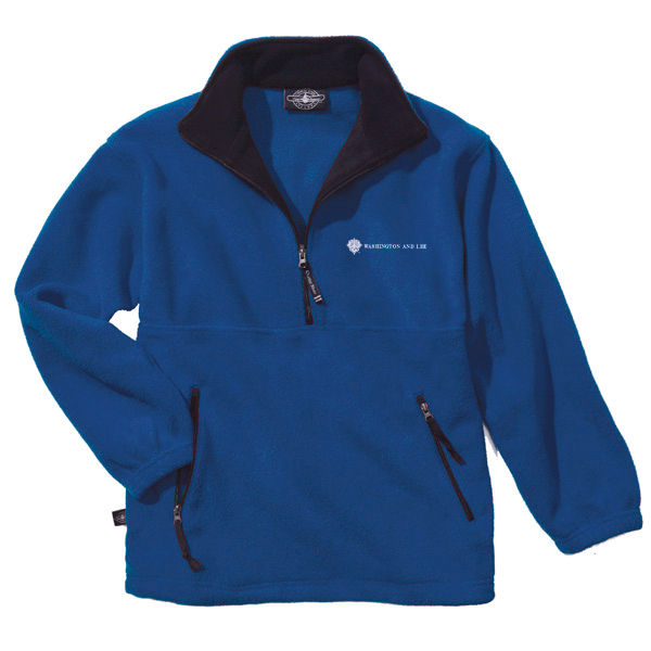 Charles River Adirondack Fleece Pullover, Royal