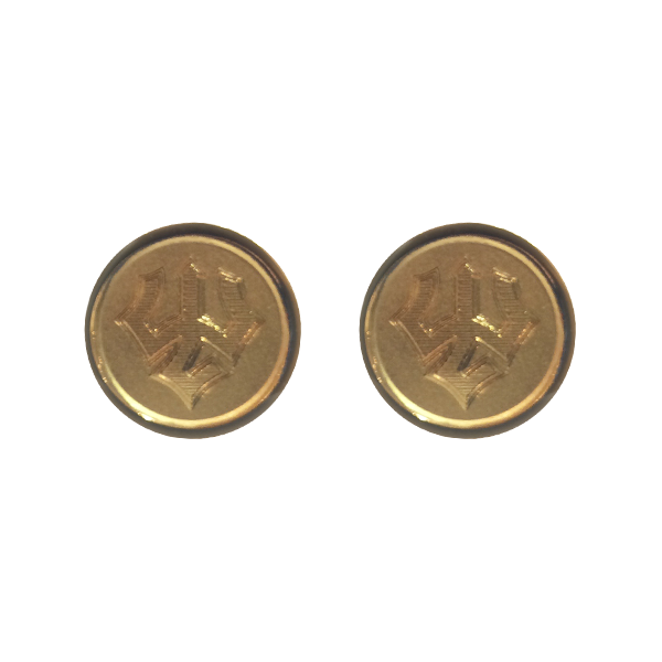 Jack Christopher Trident Cufflinks, Gold